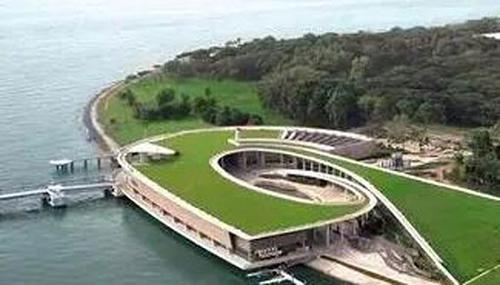 新加坡滨海堤坝