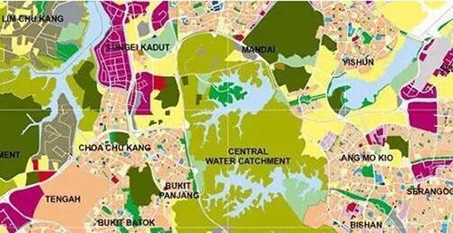新加坡中央集水区